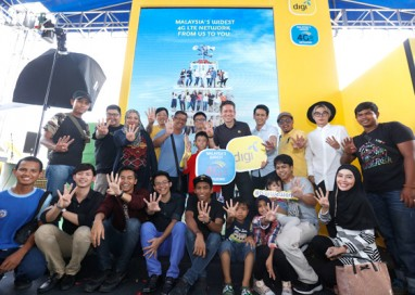 Setia Alam gets the first people's tower and Digi 4G LTE