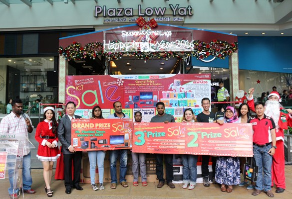 Plaza Low Yat Pre-Christmas ICT Sale Grand Prize Presentation