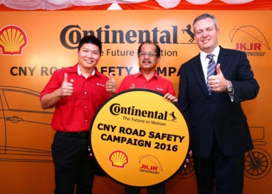 Continental Tyre Malaysia launches the Chinese New Year Road Safety Campaign 2016