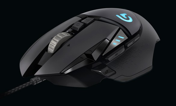 Logitech announces New G502 Proteus Spectrum Gaming Mouse