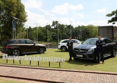 The New Premium SUV range from Mercedes-Benz