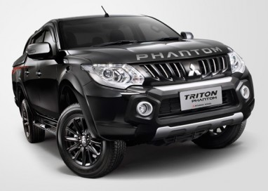 Mitsubishi launches the Triton Phantom Edition