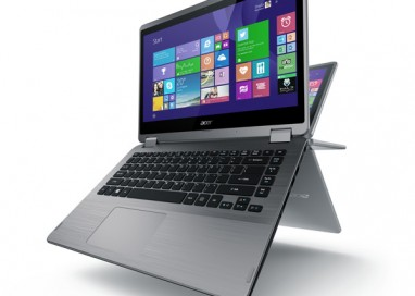 Flexible Acer Aspire R 14 powered by new Intel Skylake Processor