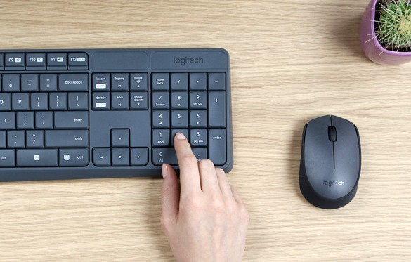 Logitech introduces Durable, Spill-Resistant Keyboard and Mouse Combo