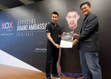 XOX Mobile names Dato' Lee Chong Wei as its Brand Ambassador