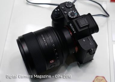 Sony unveiled G Master Lenses and A6300 at CP+ 2016 Yokohama, Japan