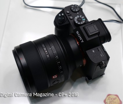 Sony unveiled G Master Lenses and A6300 at CP+ 2016 Yokohama, Japan