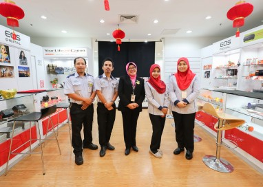 Canon Opens Customer Care Centre at Low Yat Plaza