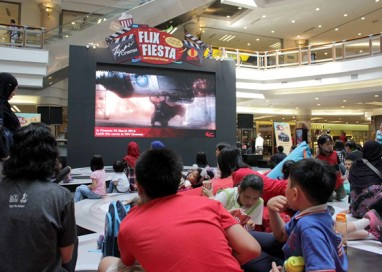Experience the best cinema concepts at TGV Cinemas Flix Fiesta!