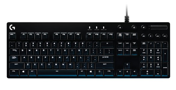 Logitech G unveils New Cherry Mechanical Gaming Keyboard
