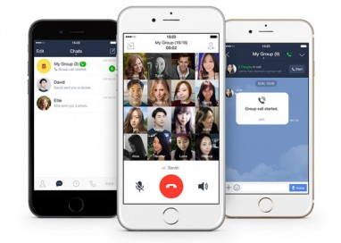 LINE introduces New Group Voice Call Feature