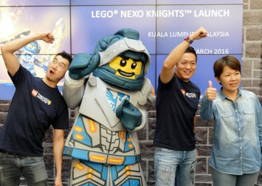 LEGO NEXO KNIGHTS catapults into action in Malaysia