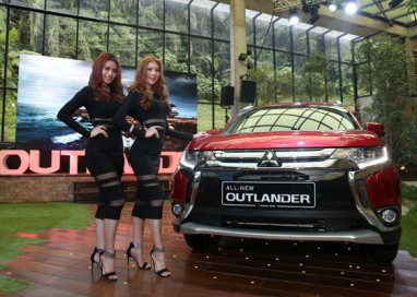 All-New Mitsubishi Outlander SUV is now open for booking