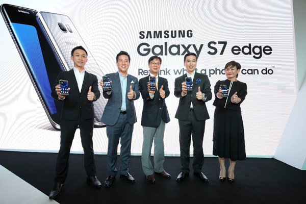 Samsung's new Galaxy S7 edge takes Malaysia by storm!