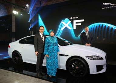 All-New Jaguar XF debuts in Malaysia