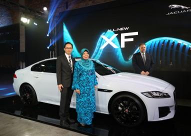All-New Jaguar XF debuts in Malaysia