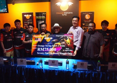 Malaysia National DotA2 Representative Team – Orange Taring Sponsorship Signing