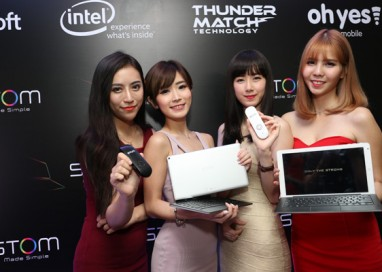 Thunder Match Technologies, Intel and Microsoft collaborate to launch STOM SPECTRUM i100 2-in-1