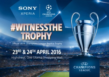 Sony Mobile Malaysia kicks off the Official UEFA Champions League Replica Trophy Event