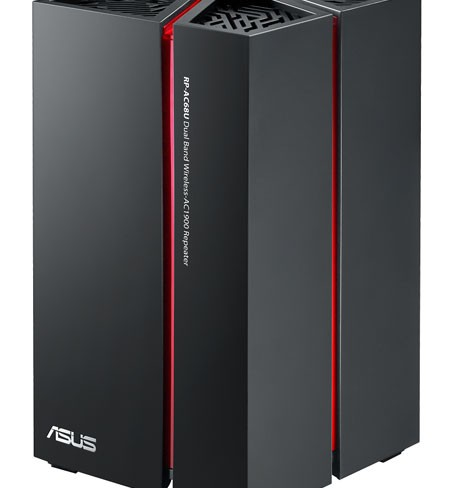 ASUS announces flagship wireless repeater RP-AC68U