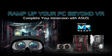 ASUS announces Beyond VR Ready Program