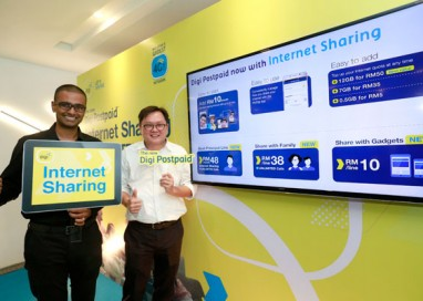 Manage Internet Quota for upto 6 lines for Family and Gadgets with Digi's New Internet Sharing Feature