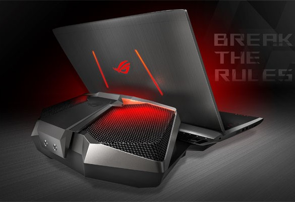 Republic of Gamers (ROG) announces GX700 – World's First Liquid Cooled Gaming Laptop
