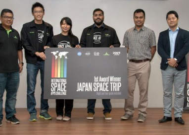 Innovators and Problem Solvers collaborate at Malaysia's First NASA Space Apps Challenge