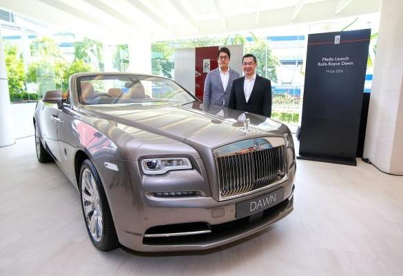 Rolls-Royce Dawn debuts in Malaysia