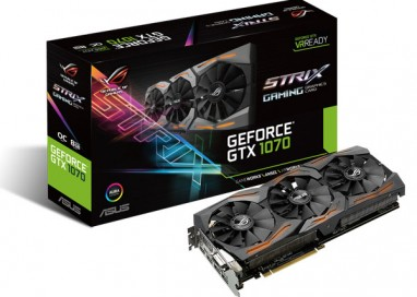ASUS Republic of Gamers announces Strix GeForce GTX 1070