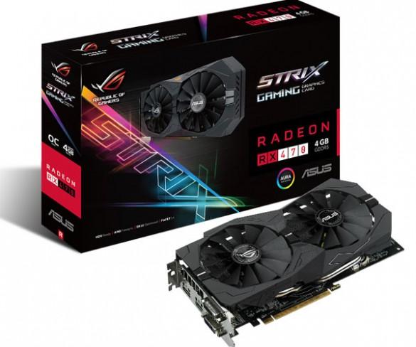 ASUS Republic of Gamers announces Strix RX 470