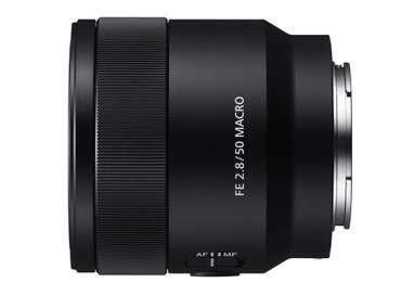 Sony Launches Full-Frame 50mm F2.8 Macro Lens
