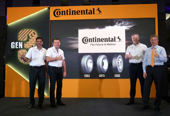 Continental Tyre Malaysia launches New Generation 3 Truck Tyres