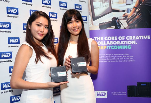 The New WD Pro Series simplifies Content Creators' Workflow
