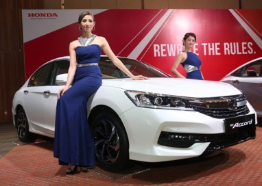 The New Honda Accord offers New Level of Expectation in Executive Sedan