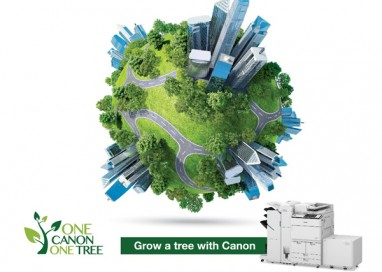 Make the Earth Greener with 'One Canon One Tree' Campaign