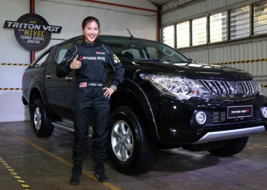 New Mitsubishi Triton with MIVEC Turbo Diesel Engine