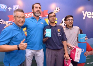 Yes Wows Malaysians with Brand Ambassador and Football Legend Eric Cantona