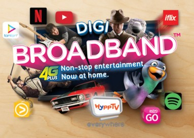 Non-stop Entertainment, Now At Home with Digi's New Broadband Plans