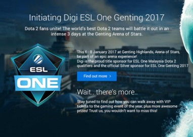 Digi sponsors First ESL One Dota 2 Malaysian Qualifiers