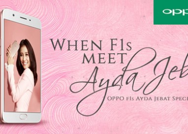"""Selfie Expert"" OPPO F1s Ayda Jebat Special Edition will make you fall in love with selfie-taking even more!"