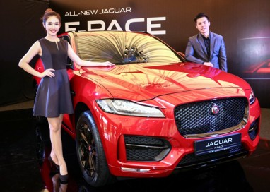 All-New Jaguar F-PACE promises Sporting Performance and Everyday Practicality