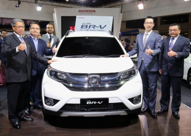 Honda Malaysia previews a prototype All-New BR-V at Malaysia Autoshow 2016
