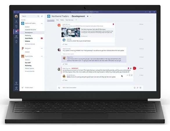 Microsoft unveils Microsoft Teams