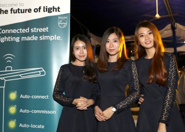 Heritage city of Melaka being the first Malaysian city with advanced Philips CityTouch connected street lighting management system