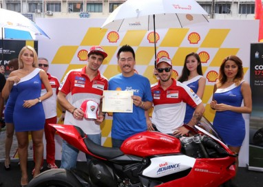 Shell Advance's Memorable MotoGP Treat for Jalan Sentul Trade Partners
