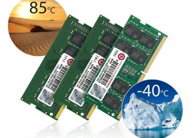 Transcend's DDR4 Industrial-Grade Wide Temperature Memory Modules offer Exceptional Performance and Reliability