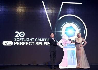 "Vivo launches V5 with 20MP Softlight Camera for a ""Perfect Selfie"""