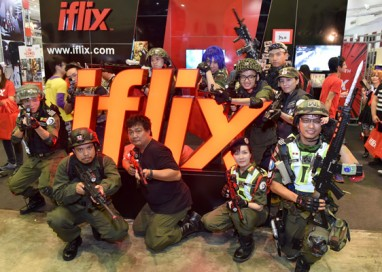 iflix, Back with a Bang at Comic Fiesta 2016