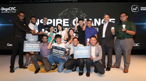 Digi Challenge for Change supports three social entrepreneurs with RM150,000